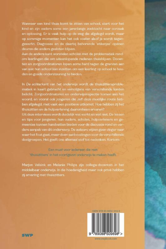Marjon Velsink, Melanie Philips,De achterkant van het onderwijs