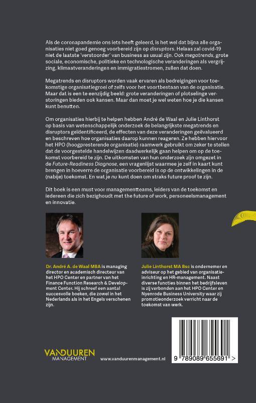 André de Waal, Julie Linthorst,Futurize!