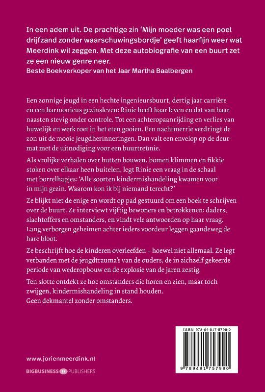 Jorien Meerdink,De omstanders