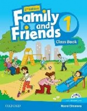 Family and Friends: Level 1. Class Book and MultiROM Pack