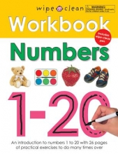 Wipe Clean Workbook Numbers 1-20