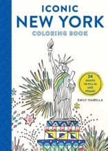 Isabella, Emily Iconic New York Coloring Book