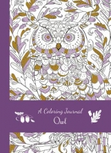 Editors of Thunder Bay Press A Coloring Journal Owl
