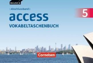 ,English G Access Abschlussband 5: 9. Schuljahr - Allgemeine Ausgabe - Vokabeltaschenbuch