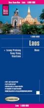 , Reise Know-How Landkarte Laos 1 : 600.000 mit Luang Prabang, Vang Vieng, Vientiane