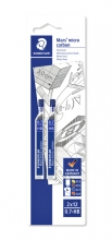 , Potloodstift Staedtler Mars Carbon Micro 0.7mm HB blister