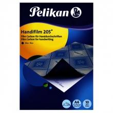 , Carbon handschrift Pelikan A4 10V blauw