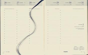 , Agenda 2022 Brepols Timing 7dag/2pagina`s 6-talig zwart