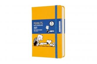 , Moleskine 12 MND Agenda - 2021 - LE Planner Peanuts - Dagelijks - Pocket (9x14 cm) - Piano