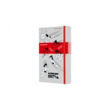 , Moleskine LE Notitieboek Astro Boy Large (13x21 cm) Gelinieerd Licht Grijs