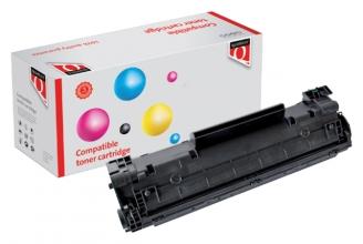 , Tonercartridge Quantore HP CB436A 36A zwart HC