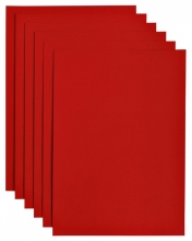 , Kopieerpapier Papicolor A4 200gr 6vel rood