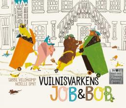 Tjibbe Veldkamp , Vuilnisvarkens Job & Bob