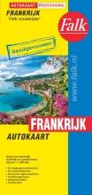, Falk autokaart Frankrijk professional