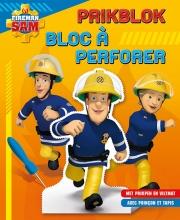 , Brandweerman Sam Prikblok Sam le pompier Bloc à perforer