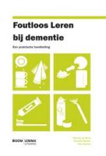 Roy Kessels Maartje de Werd  Daniëlle Boelen, Foutloos leren bij dementie