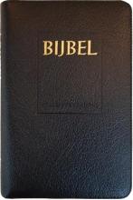 , Bijbel (SV) met goudsnee, rits en duimgrepen