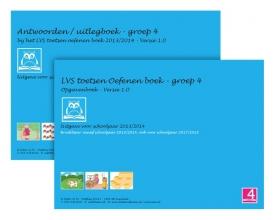 , LVS toetsen oefenen boeken Versie 1.0 Groep 4 Opgavenboek