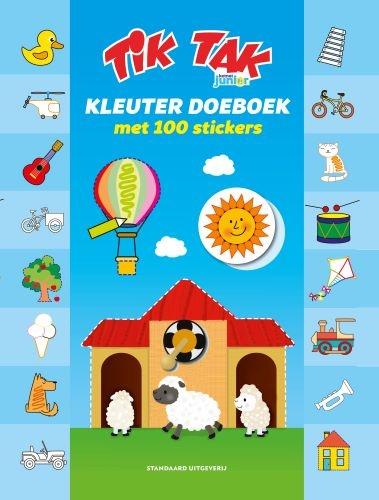 ,Tik Tak Kleuterboek met 100 stickers