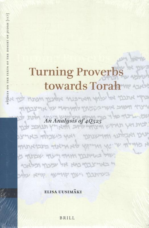 E. Uusimäki,Turning Proverbs towards Torah