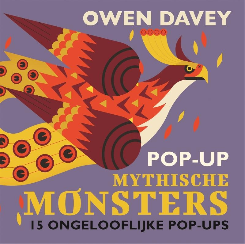 Owen Davey,Pop-up Mythische Monsters