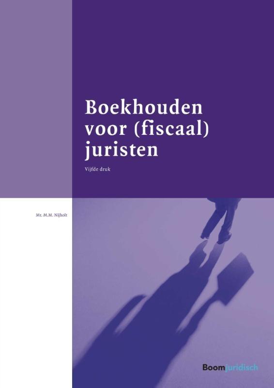 Margreet Nijholt,Boekhouden voor (fiscaal) juristen