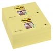 ,Memoblok 3M Post-it 655-SSY Super Sticky 76x127mm geel