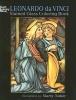 Noble, Marty,Leonardo Da Vinci Stained Glass Coloring Book