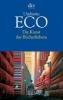 Eco, Umberto, ,Die Kunst des Bücherliebens