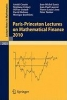 Cousin, Areski,Paris-Princeton Lectures on Mathematical Finance 2010