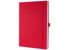 ,notitieboek Conceptum Pure    rood A4 194blz gelijnd