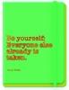 ,Journal Oscar Wilde green