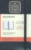 ,Moleskine 12 month - daily - pocket - black - hard