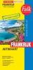 ,Falk autokaart Frankrijk professional