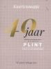 ,Plint 40 poëziekaarten uit 40 jaar plint