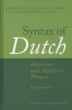 Syntax of Dutch,adjectives and adjective phrases