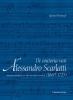 Ignace  Bossuyt ,De oratoria van Alessandro Scarlatti (1660�1725)