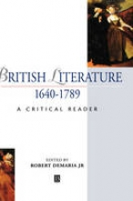 Jr., DeMaria, Robert British Literature 1640-1789