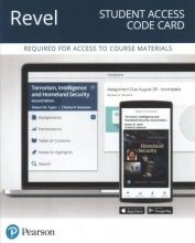 Taylor, Robert W.,   Swanson, Charles R. Terrorism, Intelligence and Homeland Security Revel Access Code Card