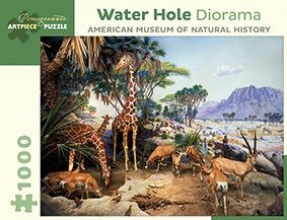 Water Hole Diorama 1000 Pc Jigsaw