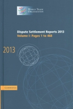 World Tourism Organization Dispute Settlement Reports 2013