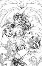 Wonder Woman Adult Coloring Book