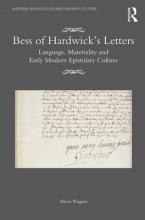 Wiggins, Alison Bess of Hardwick's Letters