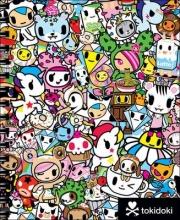 Tokidoki Tokidoki Sketchbook with Spiral