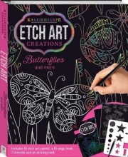 Angelika Scudamore & Collaborate Kaleidoscope Etch Art Creations: Butterflies and More
