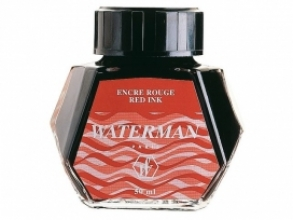 , Vulpeninkt Waterman 50ml standaard rood