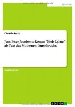 Bartz, Christin Jens Peter Jacobsens Roman