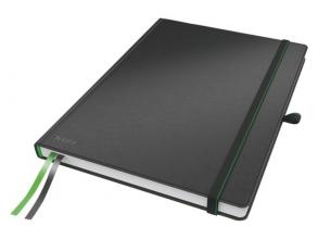, Notitieboek Leitz Complete hardcover A4 lijn zwart