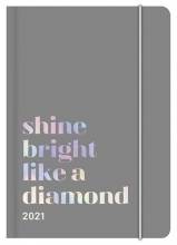 , Agenda 2021 midi flexi earthline 12x17 shine bright