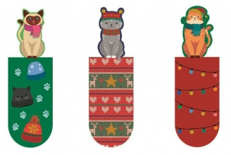 , Magnetische boekenlegger 3 stuks kerst